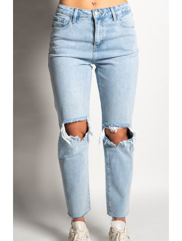 Jeans taille haute coupe...
