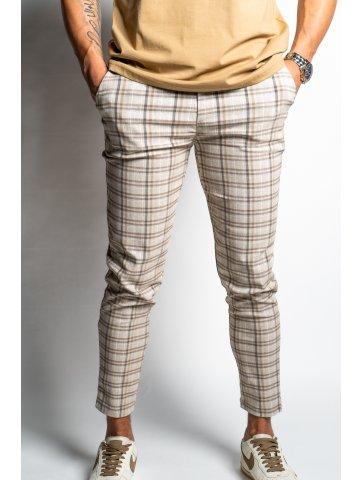 Pantalon skinny à motifs...