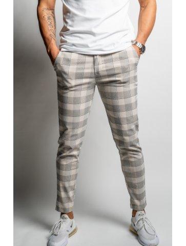 Pantalon skinny à carreaux...