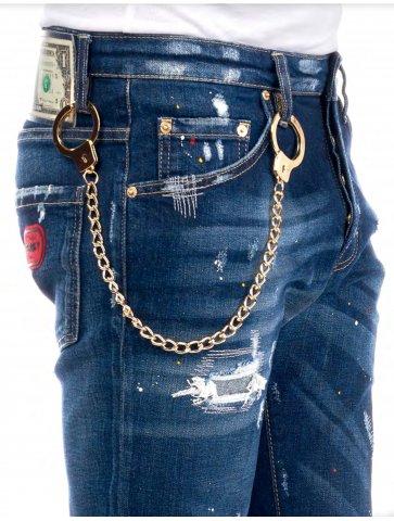 Jeans délavé Avenue George V