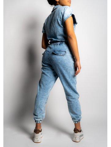 Combinaison en jeans Kenza