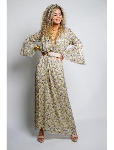 Longue Robe à Motif Lisa