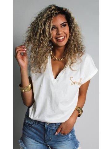 T-shirt smile laura