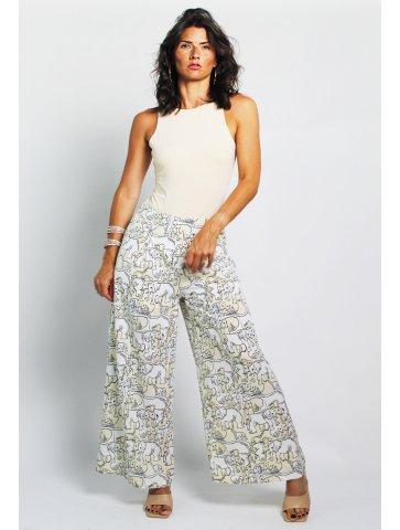 Pantalon à motif nora