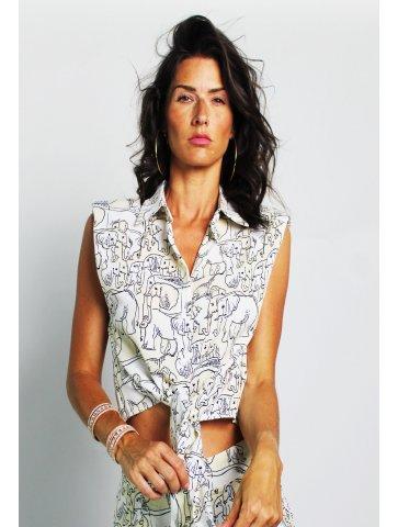 chemiser courte manche maria