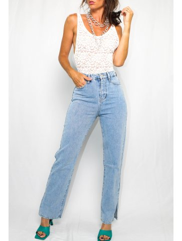Pantalon en jeans Justine