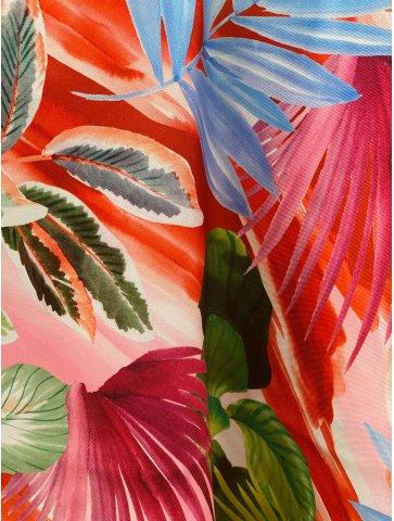 Pantalon ample à motif flora