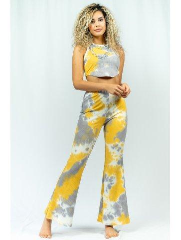 Pantalon Moucheté Lia