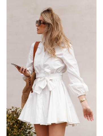 Robe blanche lola