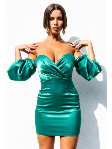 Robe Mini Bustier Manches...