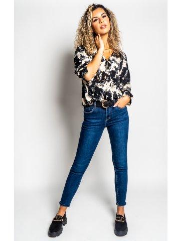 Jeans Slim Foncé Lorissa