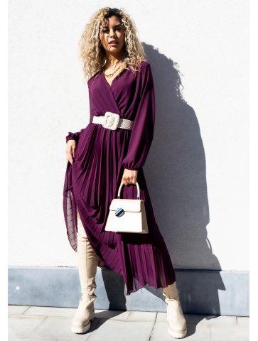 Robe Longue Plissée Shana