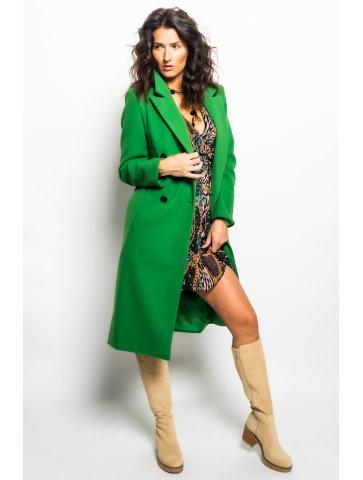 Long Manteau Vert Sonia