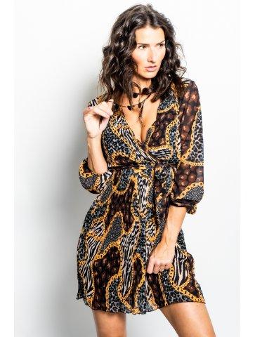 Robe à Ramages Mini Rania
