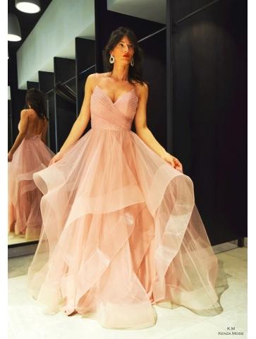 Robe Princesse Tulle Rose