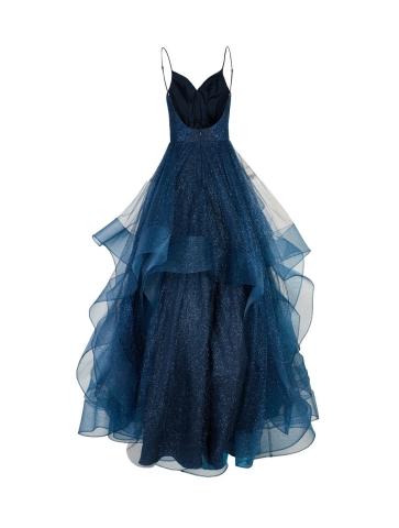 Robe Princesse Tulle Bleu