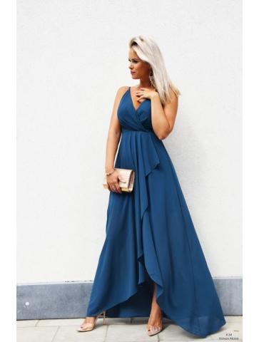Robe Cache Coeur Bleu Canard