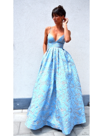 Robe Princess Melina Bleu
