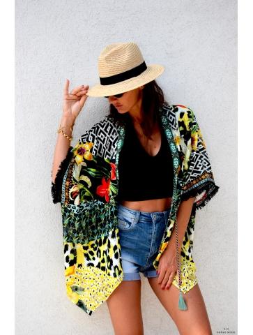 Kimono Coloré Sandra