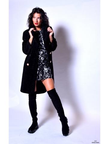 Manteau en peluche Roxana