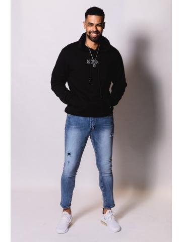 Jeans skinny avec détails