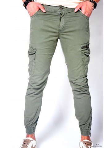 Pantalon cargo kaki...