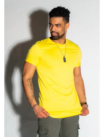 T-shirt basic col rond nico