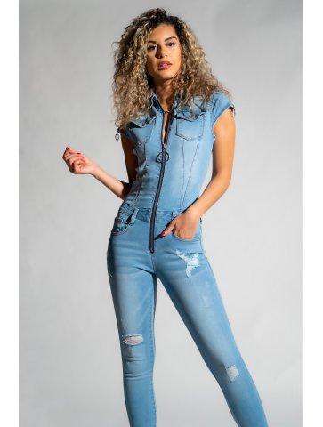 Combinaison en jeans maria